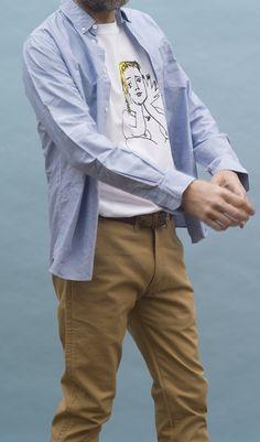 Camiseta con dibujo de la marca Malasuertemente