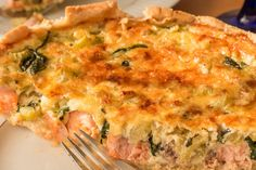 Quiche, Fish Recipes, Breakfast, Food, Morning Coffee, Essen, Quiches, Meals, Yemek
