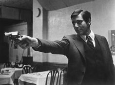 Al Pacino as Michael Corleone in Godfather I