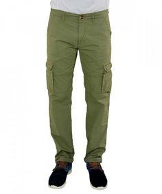 Ανδρικό παντελόνι Battery χακί 17D900371 #ανδρικάπαντελόνια #υφασμάτινα #μόδα #ρούχα #στυλ #χρώματα Khaki Pants, Fashion, Moda, Khakis, Fashion Styles, Fashion Illustrations, Trousers