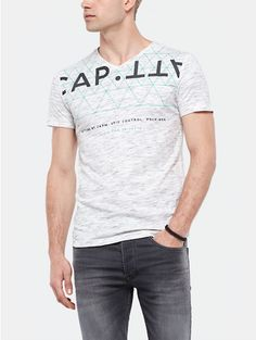 T-shirt met print offwhitewit