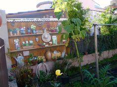 Village de Théoule/Mer - Trompe oeil!!