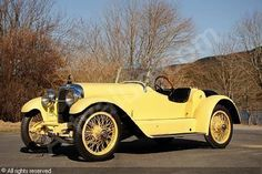 1922 Mercer Series 5 Raceabout, billed as the first sports car