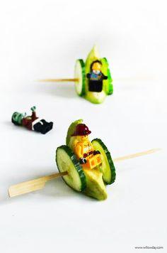 Healthy Snacks | make veggie wheels | willowday