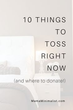 Got 10 minutes? Declutter + donate these 10 items you probably have lying around items without breaking a sweat. Declutter Your Home, Organizing Your Home, Minimalism Meaning, Clutter Free Home, Charity Organizations, Minimal Decor, Right Now, Simple Living, Clean House