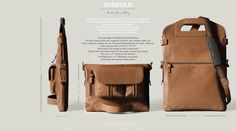 another awesome bag from Hard Graft... for when I'm feeling brown
