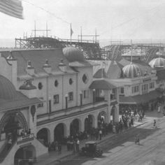 Old early 1900's Redondo Beach Pier.