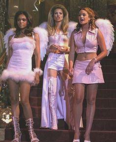Little Girl Halloween Costumes, Soirée Halloween, Trendy Halloween, Halloween Outfits, Girl Costumes, Halloween College, Angel Halloween Costumes, Costume Ideas, Halloween Costumes For Groups