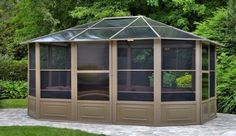 106 Gazebo Designs & Ideas - Wood, Vinyl, Octagon, Rectangle and More (Photos)