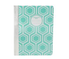 Studio C Pattern Play composition book in mint available at @walmart stores nationwide! #backtoschool #backtoschoolwithStudioC