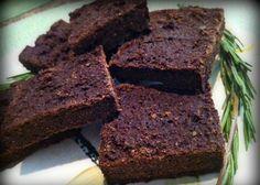 Receta de Brownies integrales de Romero