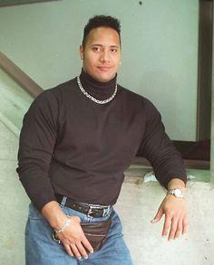 ' Dwayne Johnson treats fans to a flashback picture 'It's Rock!' Dwayne Johnson treats fans to a flashback picture'It's Rock!' Dwayne Johnson treats fans to a flashback picture The Rock Dwayne Johnson, Rock Johnson, Dwayne The Rock, Dwayne Johnson Meme, Dwayne Johnson Young, Fashion Mode, 90s Fashion, Rock Meme, Rock Costume