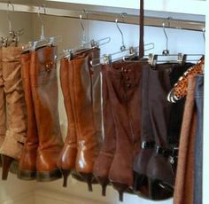 How To Store Your Boots Http://blog.3dayblinds.com/easy