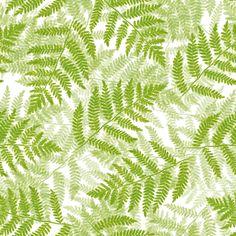 ferns on white fabric by weavingmajor on Spoonflower - custom fabric