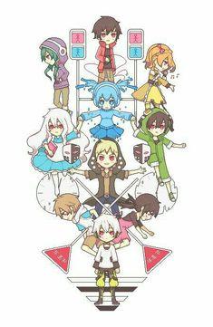 Kagerou Project by HazelRuko Mekakucity Actors Konoha, Vocaloid, Manga Anime, Anime Art, K Project, Kawaii, Kagerou Project, Manga Games, The Villain
