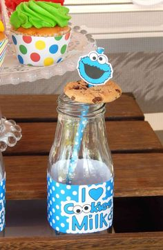 RUSTIC WHIMSICAL SESAME STREET BIRTHDAY PARTY   CatchMyParty.com
