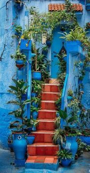 Chefchaouen, Morocco (72 pieces)
