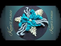 Cast on stitch Casting On Stitches, Hand Embroidery Tutorial, Brazilian Embroidery, Kurti, It Cast, Tutorials, Quilts, Flower, Youtube