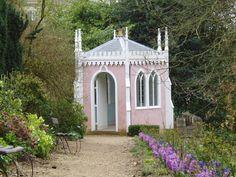 a folly of the Painswick Rococo Garden