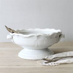 Antique Ironstone Tureen by lovintagefinds on Etsy, $55.00