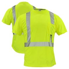 JAP HOT Men/'s Safety Shirt Reflective Short Sleeve T-Shirt Working Clothing New