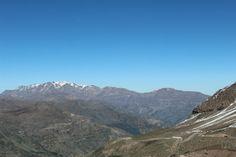 A caminho do Valle Nevado, no Chile.