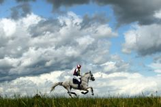 July 13, 2012. An equestrian rides his horse during an eventing competition in Baborowko, Poland. Janek Skarzynski—AFP/Getty Images.