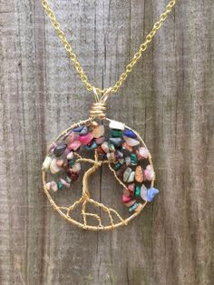 A personal favorite from my Etsy shop https://www.etsy.com/listing/236428383/tree-of-life-necklace-tree-of-life