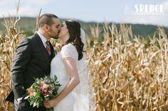 "Photo 1 from ""Olivia & Thomas Springfield Manor, Album, Wedding Dresses, Image, Instagram, Fall, Fashion, Bride Dresses, Autumn"