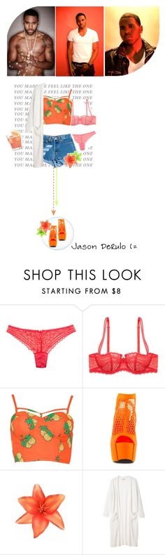 """""""Wiggle - Jason Derulo feat. Snoop Dogg"""" by brunette16 ❤ liked on Polyvore featuring Eberjey, Chantelle, Privileged, Clips and Monki"""