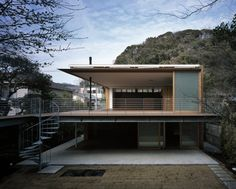 House to Catch the Mountain by Tezuka Architects #simplyAwesome