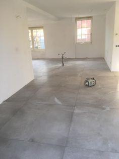 Betonlook tegels 120x120 cm