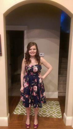 Love pretty floral summer dresses