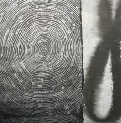 Sév - 2020 - Collage on cardboard - Mixed Media - Nov-déc 2013 - Recto