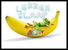 Good Night, Good Morning, Goeie Nag, Goeie More, Afrikaans, Smiley, Fruit, Sayings, Image