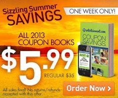 Entertainment.com Coupon Books ~ Only $5.99 (83% Savings!)