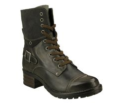Taos Crave Boot: Grey Leather