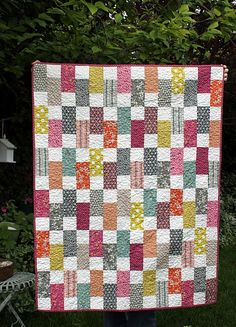 Hope Valley Bricks by diary of a Quilter....Just finished my top using this pattern today!  Love it!