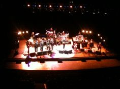 Lyle Lovett and His Large Band. It's not big, it's large.