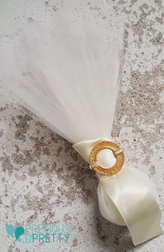 Greek wedding favors which called bombonieres in Greece, with goldplated ornament with wishes and ivory tulles Handmade Wedding Favours, Wedding Favors, Wedding Ideas, Greek Wedding, Baptism Invitations, Crowns, Wish, Weddings, Wedding Keepsakes
