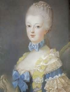 1769 – She was required to leave her Austrian attire, possessions, servants, and friends behind. After lengthy negotiations, she was allowed to keep her dog, a pug named Mops. The 14-year old was stripped of her nationality and her clothes before the entire Austrian delegation that was present, causing her to break down and cry.