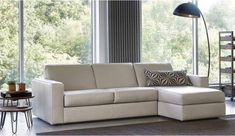 Marco Sofa Bed - 3 Seater + Storage Chaise