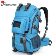 40L Internal Frame Climbing Bag Waterproof Terylene Material Unisex Travel…