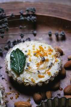 This Rawsome Vegan Life: MEYER LEMON COCONUT CREAM TARTS with MINT + LAVENDER