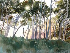"""""""Inspirations"""" by Erin Dertner  ~  Watercolor - #trees"""
