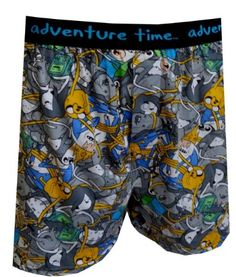 Amazon.com: Adventure Time Character Collection Boxer Shorts for men: Clothing ($13.00) - Svpply
