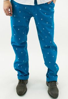 Anchor Printed Chino Pants -- do these come in women's?