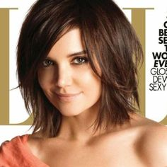 loving this cut... Want a longer version done with  short hair