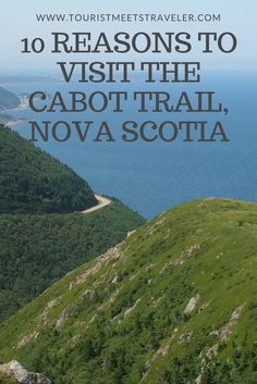 The Cabot Trail on Cape Breton Island has scenic hikes and incredible vistas. Learn where to go on Cape Breton Island and best things to see along the Cabot Trail. Travel Guides, Travel Tips, Travel Destinations, Rv Travel, Japan Travel, Cabot Trail Nova Scotia, Banff, Travel With Kids, Family Travel