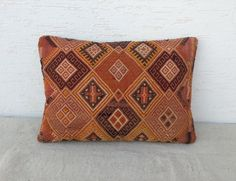 LARGE Vintage Home Decor Handwoven Turkish Kilim by pillowsstore, $101.00
